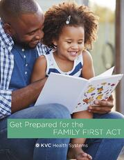 Family First Act Checklist Offer - Cover - Get Prepared How to Implement the Family First Prevention Services Act